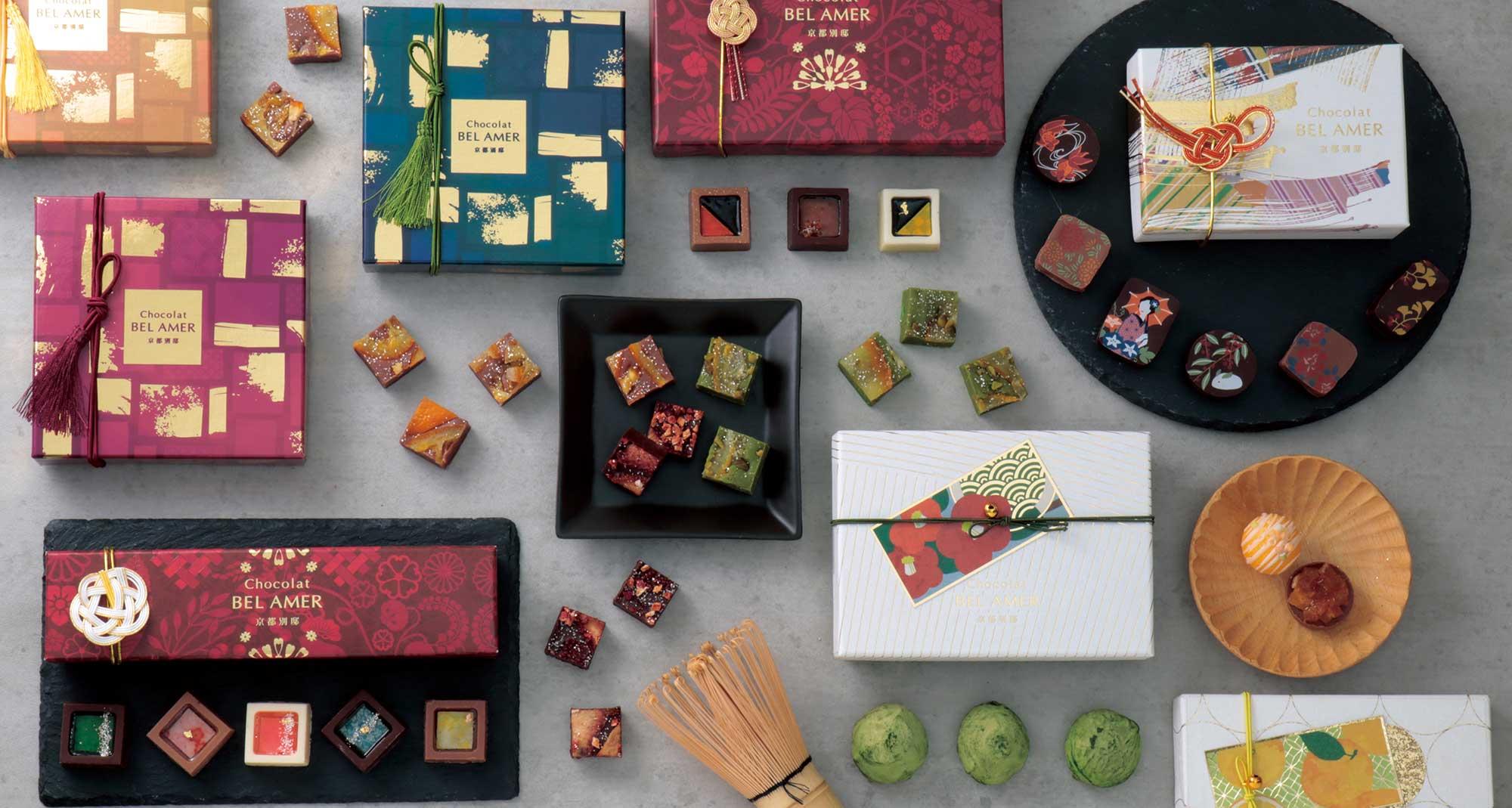 ショコラベルアメール京都別邸より、日本の素材と美しさにこだわった新作ショコラが登場