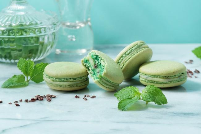 季節の味が楽しめるマカロン デュ モモンにチョコミント味が登場!