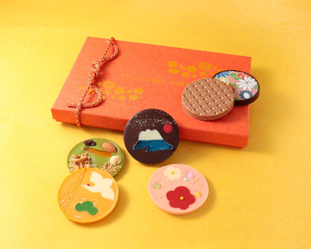 日本のショコラ専門店ベルアメールから、華やかな「迎春パレショコラ」が登場!