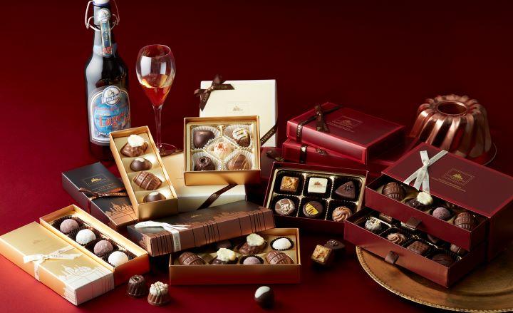 ドイツ最大の航空会社ルフトハンザドイツ航空のファーストクラスで提供されている「ローエンシュタイン」のショコラが、バレンタイン期間に日本に登場!