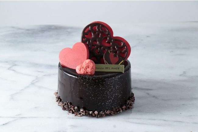 【ベルアメール】バレンタイン期間限定! ショコラ専門店ならではのチョコレートケーキ