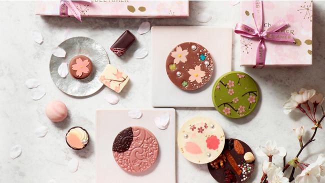 【ベルアメール】春を満喫できる桜コレクションや新作ショコラが登場