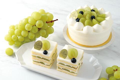 【ラ・メゾン白金 グラン】シャインマスカットのショートケーキ