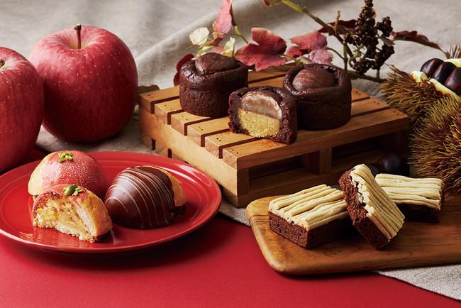 【ベルアメール】和栗やリンゴ、秋の味覚とショコラを組み合わせた新作が登場!